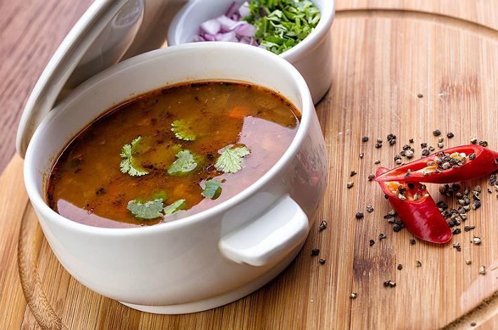 Как приготовить суп харчо