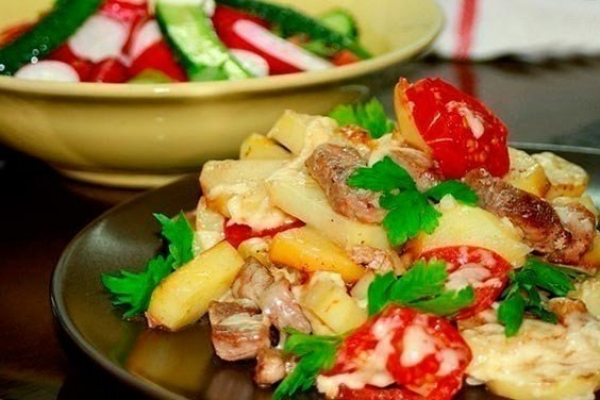 Эскалоп из свинины с подливкой рецепт пошагово