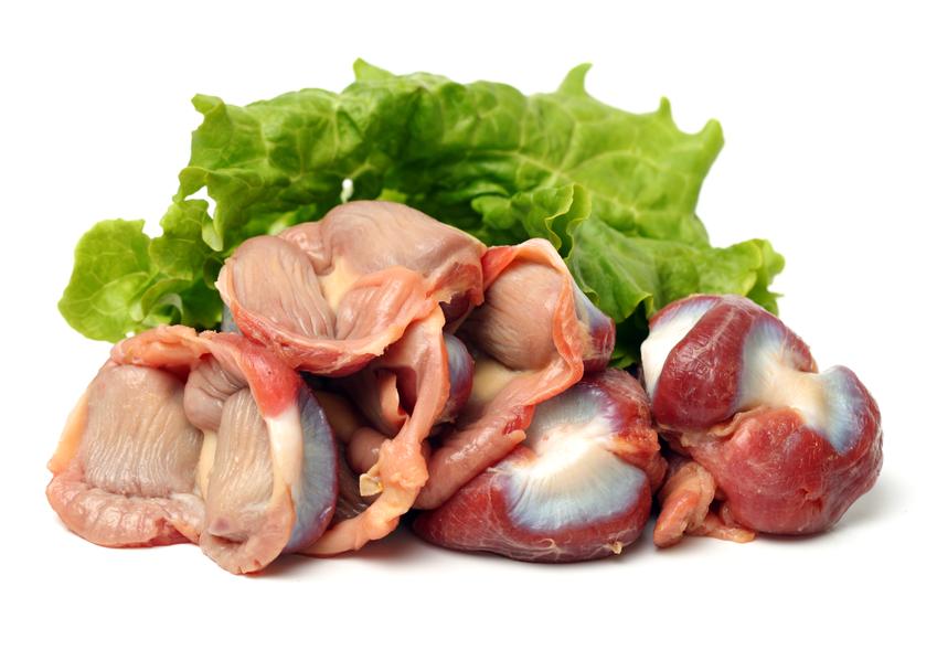 Как готовить куриные желудки